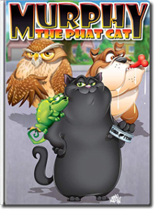 Murphy the Phat Cat by Samantha Caprio-Negret